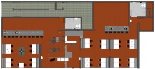 Floor Plan- Rendered Drawing
