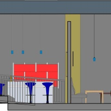 Restaurant Section Rendered 3