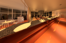 Restaurant Rendered View 2