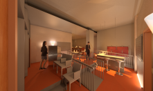 Restaurant Rendered View 4