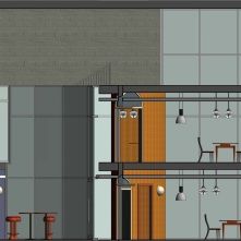 Phase 2: Rendered Section Elevation 1