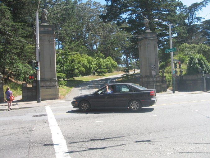 Golden Gate Park Entrance