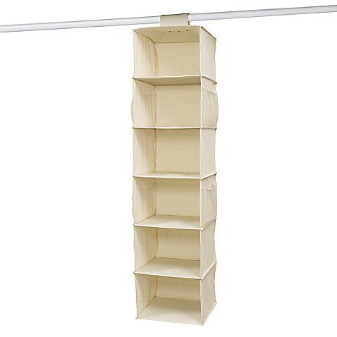 Hanging Fabric Shelf Organizer